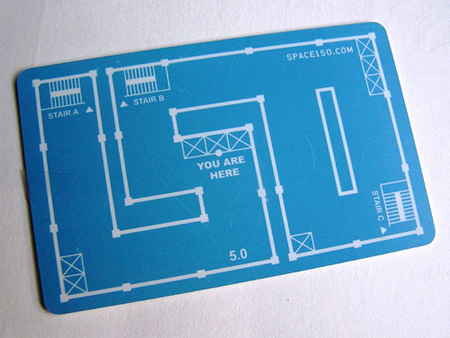 Space 150 Business Card