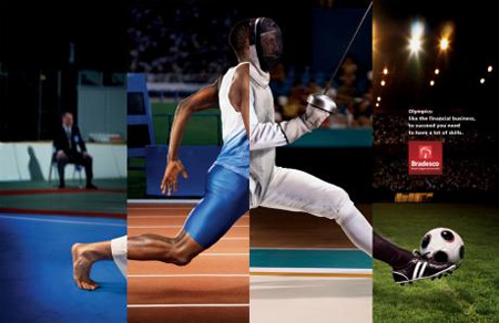 Brilliant Bradesco Olympics Ads