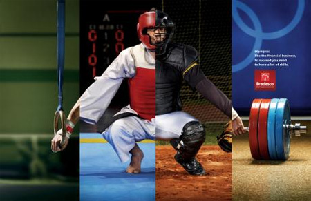 Brilliant Bradesco Olympics Ads 2
