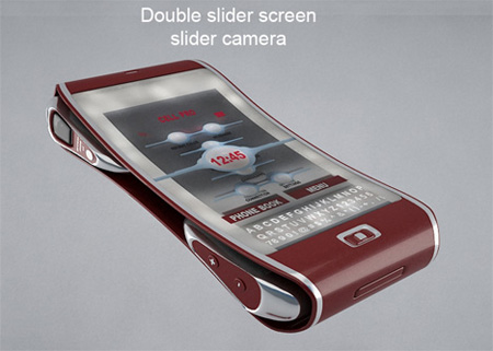 Bend Cell Phone Concept