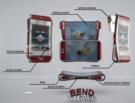 Bend Cell Phone Concept 3