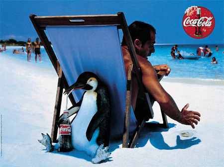 Collection of Cool Coca-Cola Ads