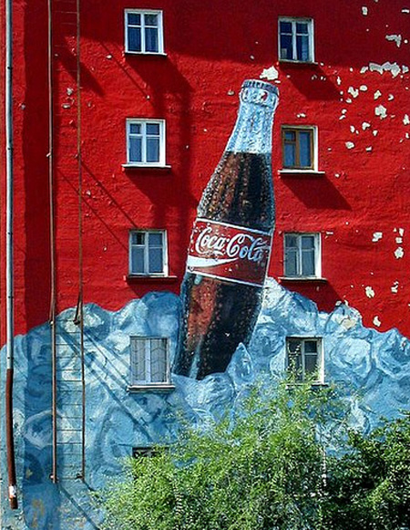 Coca-Cola Apartment Advertisement
