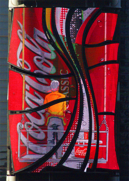 Creative Coca-Cola Advertisement