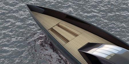 Raven Yacht by Maël Oberkampf