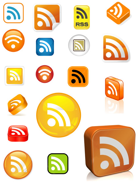 51 RSS Icons For Your Blog