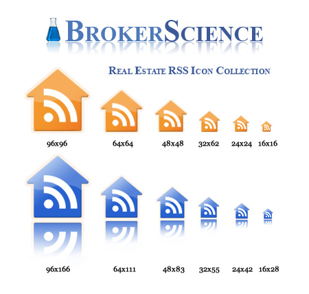 Real Estate RSS Icons