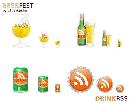 DrinkRSS RSS Icons