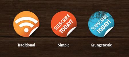 Nice n Simple Subscribe Badges