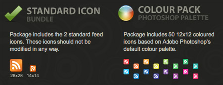 Standard Web Feed Icons