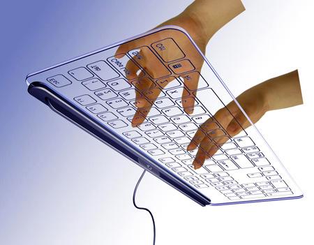 Glass Keyboard by Kong Fanwen 2