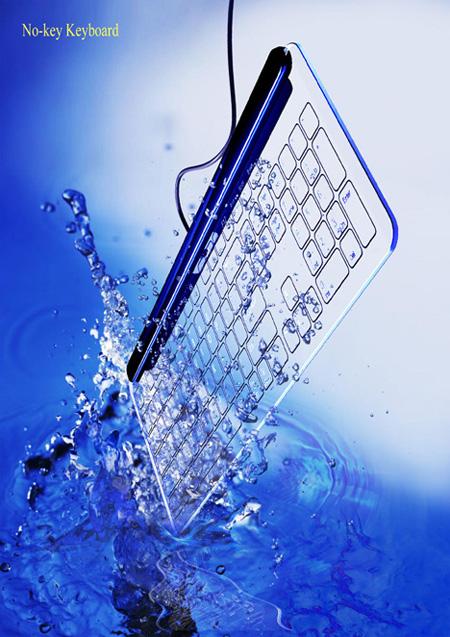Glass Keyboard by Kong Fanwen 3
