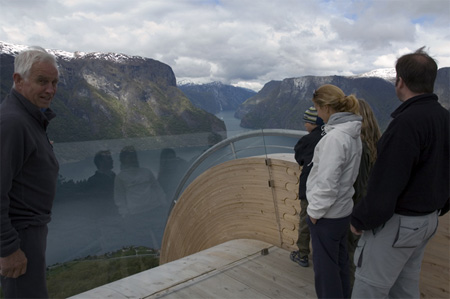 Breathtaking Aurland Lookout in Norway 10