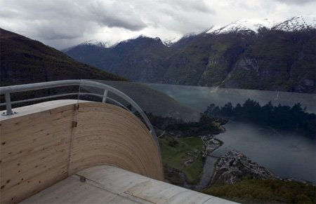 Breathtaking Aurland Lookout in Norway 11