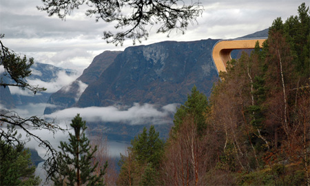 Breathtaking Aurland Lookout in Norway 2