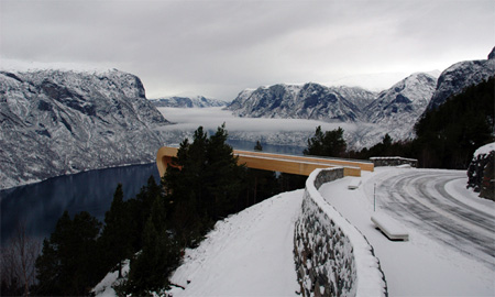 Breathtaking Aurland Lookout in Norway 8