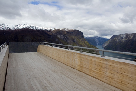 Breathtaking Aurland Lookout in Norway 9