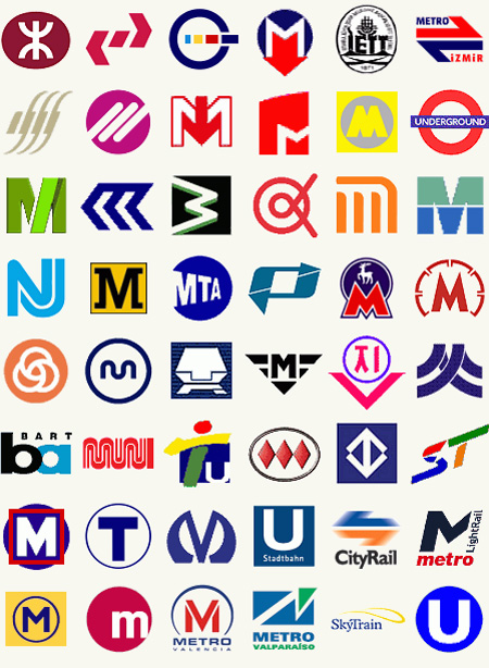 Metro Logos from Around the World 3