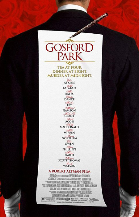 Gosford Park (2001) Poster