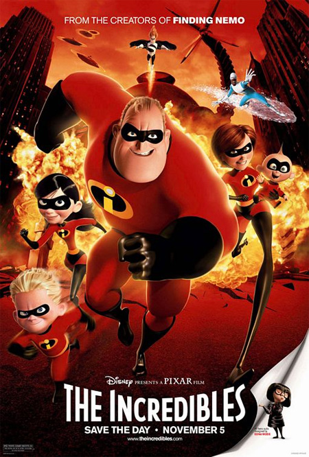 The Incredibles (2004) Poster