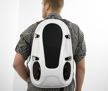Reppo II Boombox Backpack by Joonas Saaranen