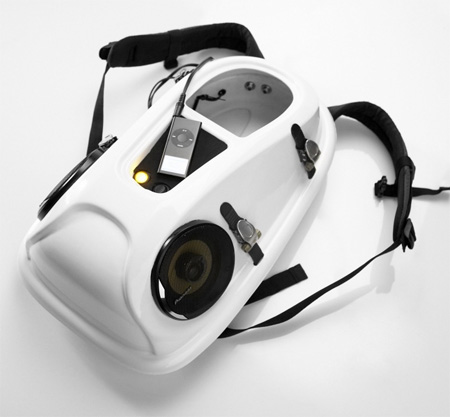 Reppo II Boombox Backpack by Joonas Saaranen 2