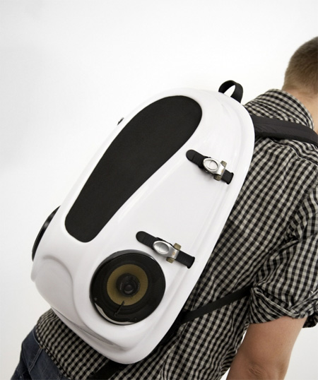 Reppo II Boombox Backpack by Joonas Saaranen 3