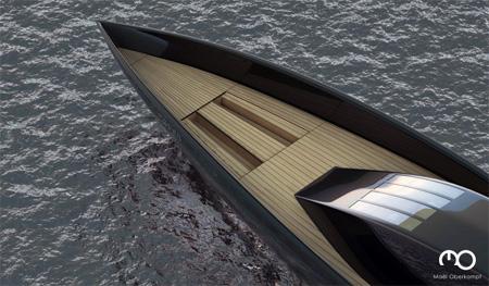 The Raven Yacht by Maël Oberkampf