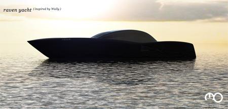 The Raven Yacht by Maël Oberkampf 2