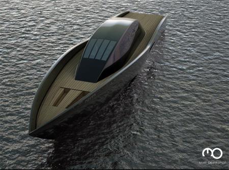 The Raven Yacht by Maël Oberkampf 3