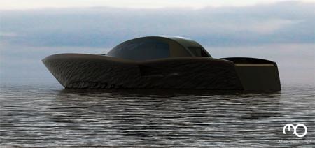 The Raven Yacht by Maël Oberkampf 4