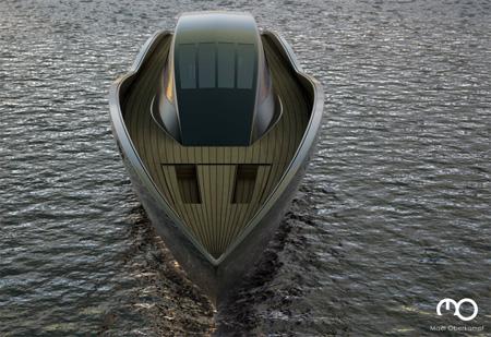 The Raven Yacht by Maël Oberkampf 6