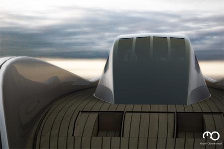 The Raven Yacht by Maël Oberkampf 5