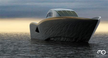 The Raven Yacht by Maël Oberkampf 8