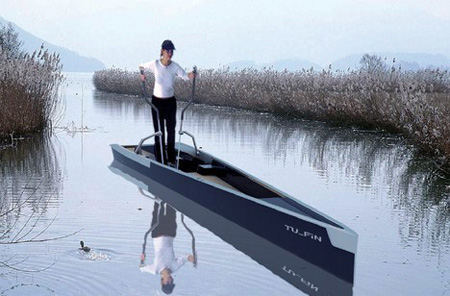 Walk on Water with TU FiN