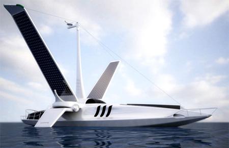 Volitan Futuristic Lightweight Boat 2