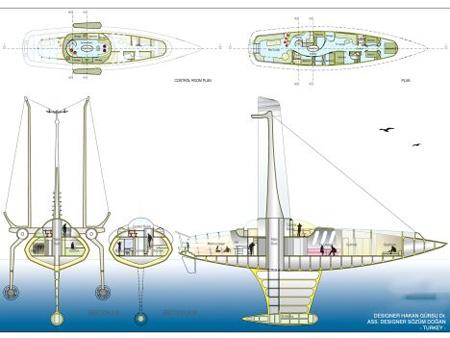 Volitan Futuristic Lightweight Boat 4