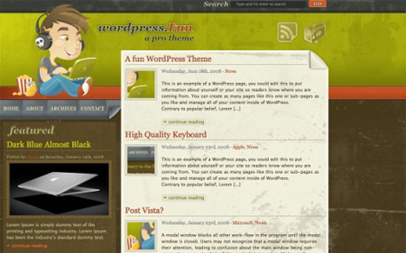 24 High Quality Free WordPress Themes