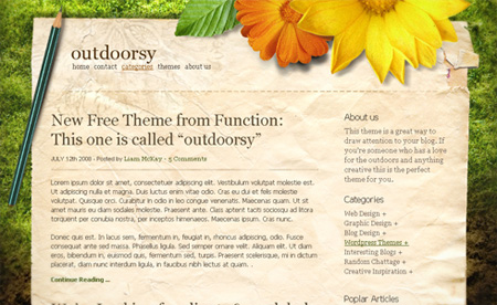 Free WordPress Themes 02