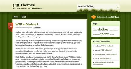 High Quality Free WordPress Themes 12
