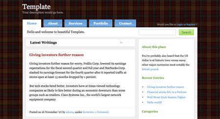 Free WordPress Themes 11