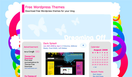 Free WordPress Themes 16