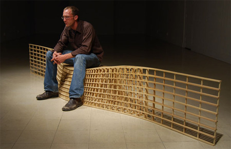 Bench Designs by Matthias Pliessnig
