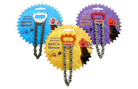 Bike Chain Bottle Opener 2