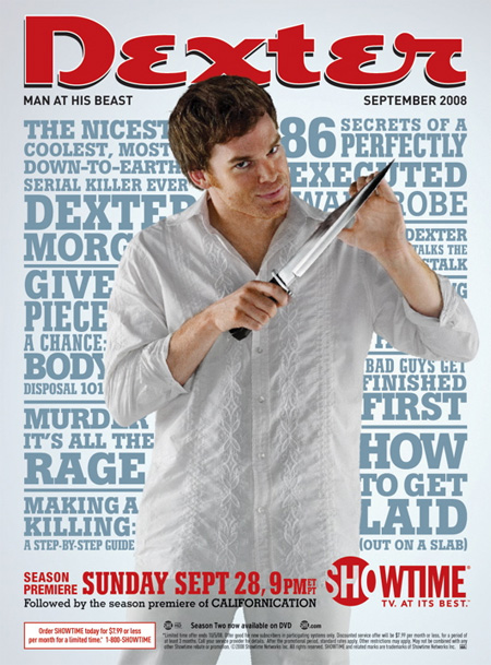 Killer Posters for Dexter Season 3 2