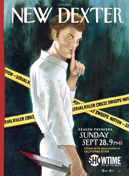 Killer Posters for Dexter Season 3 3
