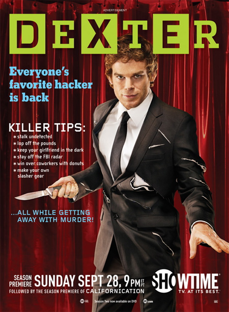 Killer Posters for Dexter Season 3 5