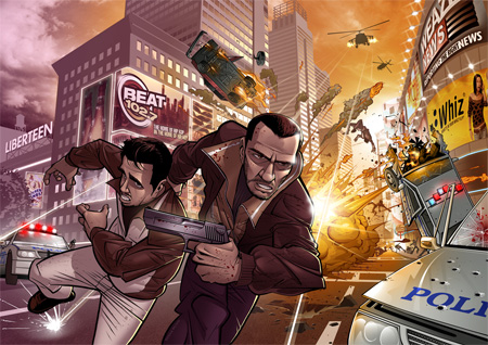 Grand Theft Awesome IV by Patrick Brown