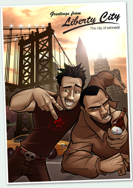 Welcome To Liberty City by Patrick Brown