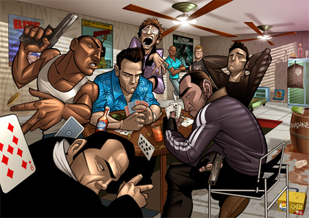 GTA Game Of Legends by Patrick Brown